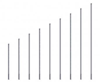 Aluminium-Standpfosten für Ballfangzäune