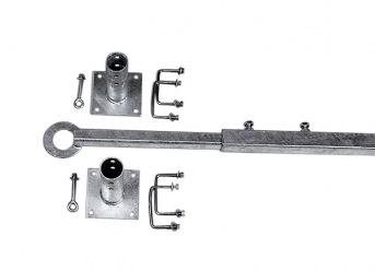 Telescopic Push-Rod as a Safety Stop for Pallet Racks